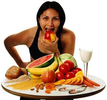 bra att äta när man tränar